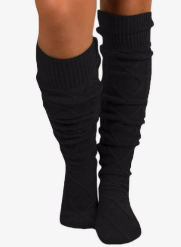 Thigh High Knit Boot Sock
