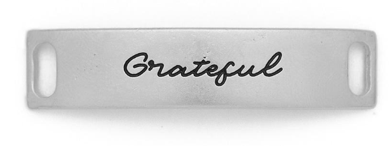 """Grateful"" Sentiment Silver"