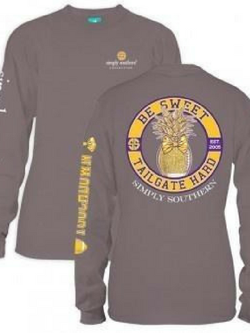 Be Sweet Tailgate Hard-Gold/Purple