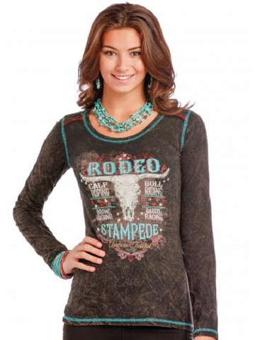 Rodeo Stampede Long Sleeve Shirt