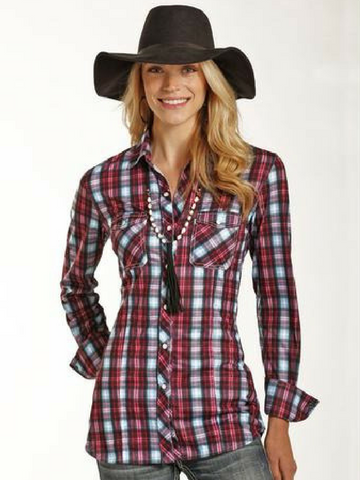Maddie's Plaid Tunic