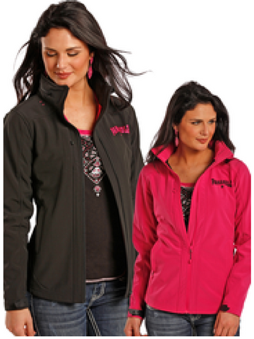 Rock N Roll Cowgirl Hot Pink Softshell Jacket