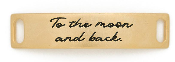 """To the moon and back"" Sentiment Gold"