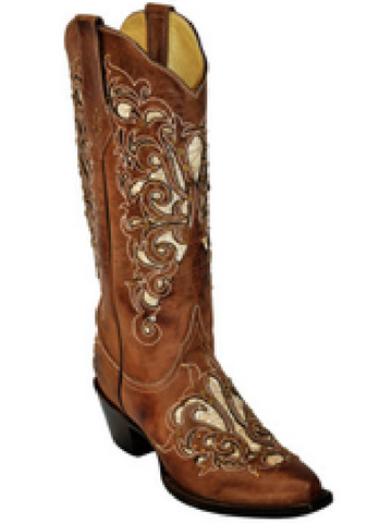Southern Belle Brown Boots