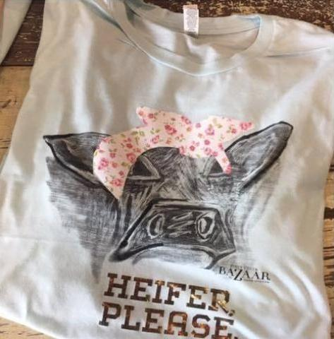 Heifer Please Tee