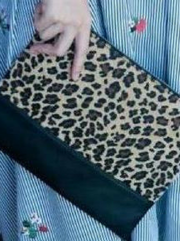 All In One Cheetah Bag