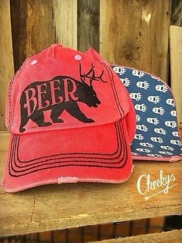 Beer Bear Hat
