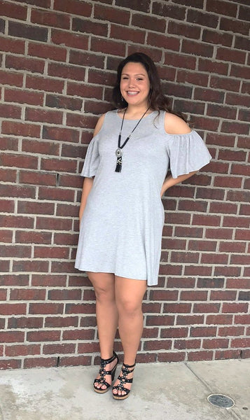 Heather Gray Cold Should Tshirt Dress