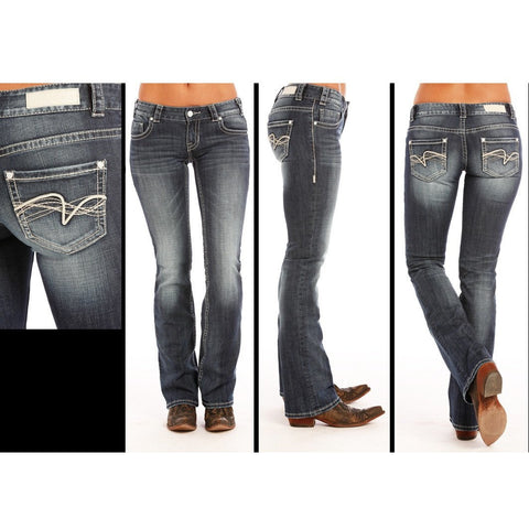 Rock and Roll Dark Vintage Jean
