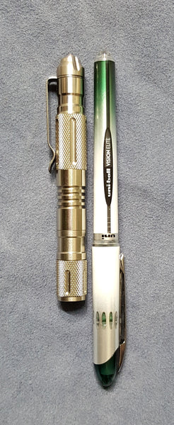 Manker PL10vn Stainless Pen/Light/Strike