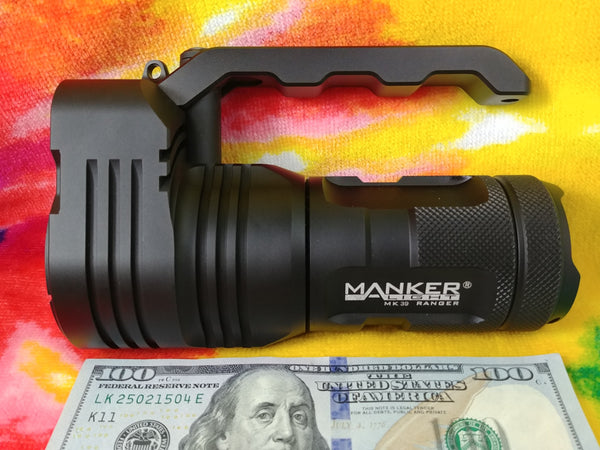 "Manker MK39vn Ranger - ""Ideal"" Handle SearchLight R"