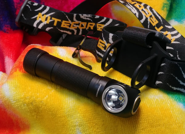 Nitecore HC33vn - Thrower of Headlamps