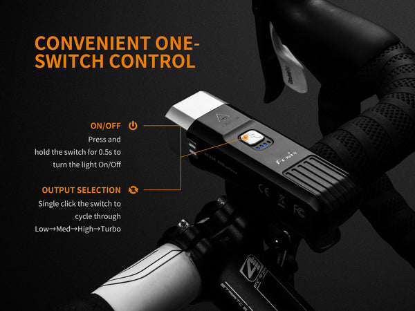 Fenix BC25Rvn - HCRI Bicycle Light