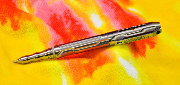 Manker EP02 Titanium Tactical Pen