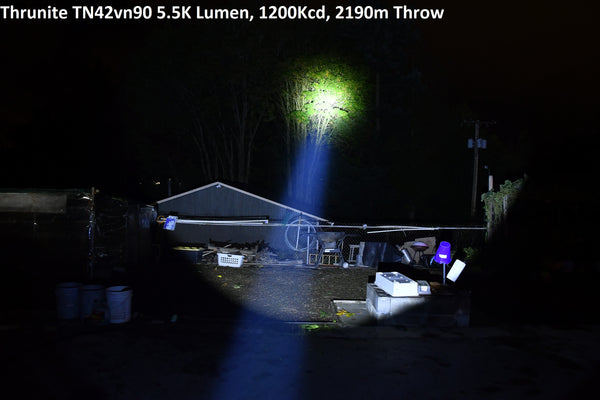 Thrunite TN42vn - My Most Favorite Light/Thrower R