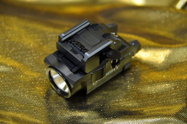 Olight BaldrVN Mini - Best Subcompact Gun Light With Green Laser