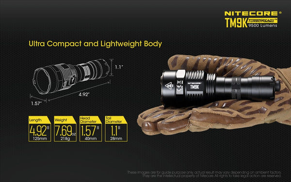 Nitecore TM9Kvn - Compact Floodlight