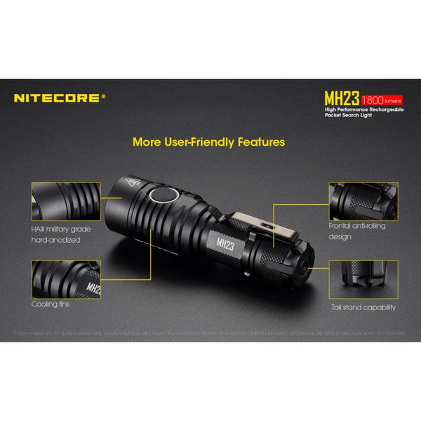 Nitecore MH23vn - 2-Stage Switch