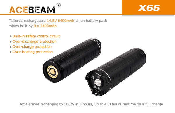 Acebeam X Series Battery Pack