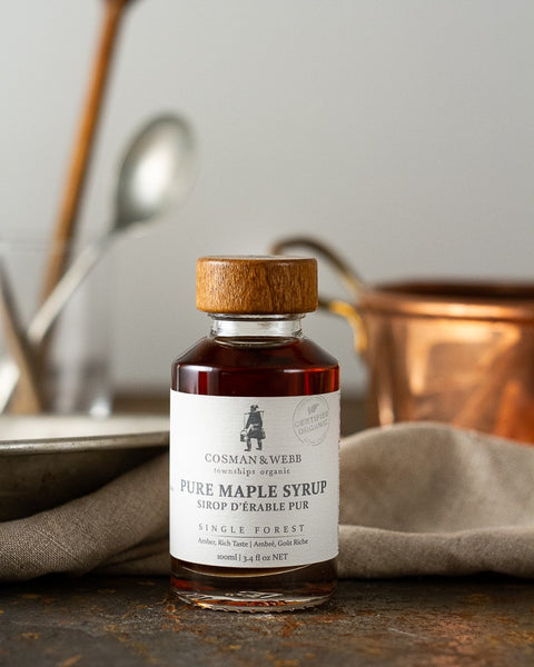 Cosman and Webb Organic Maple Syrup