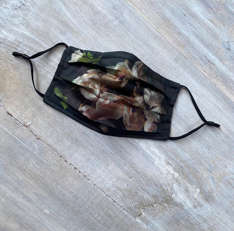 Floral Face Mask (locally made)