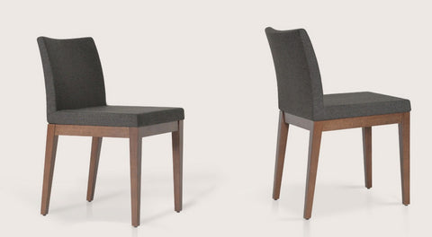 Aria Side Chair - Wood Base - Parliament Interiors