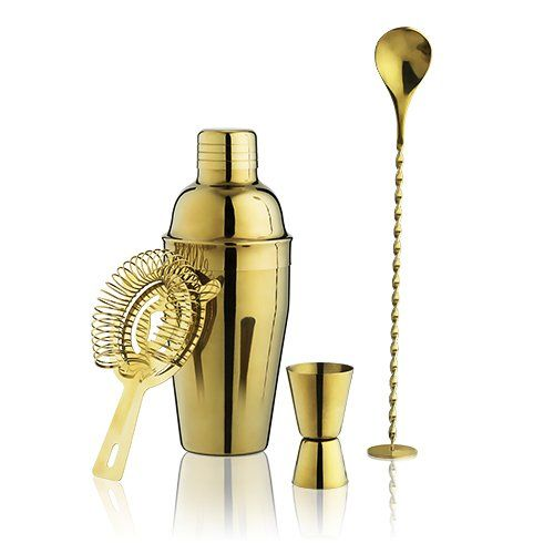 Gold Barware Set