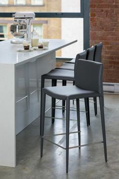 Zakk Counter and Bar Stools - Parliament Interiors