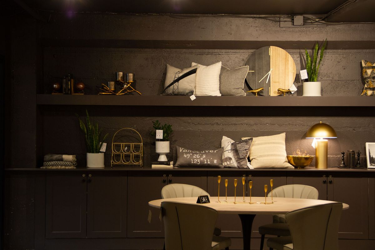 Downtown Vancouver Modern Furniture Store Parliament Interiors