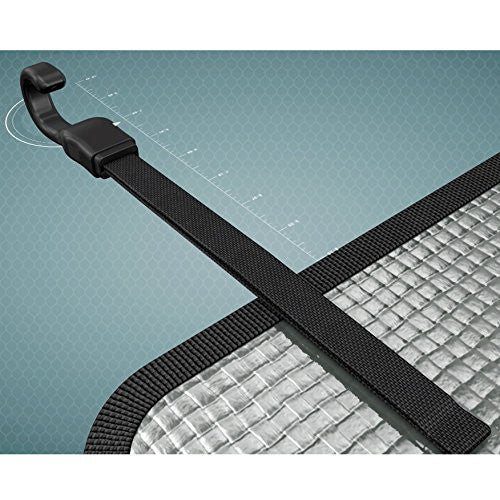 Kick Mats 1-Pack, Gray