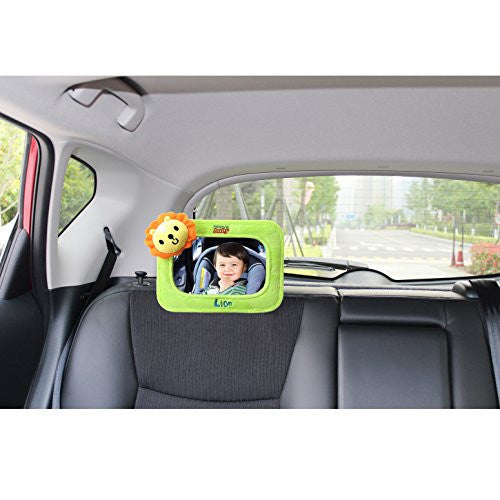 Rear Facing Car Baby Mirror, Lion
