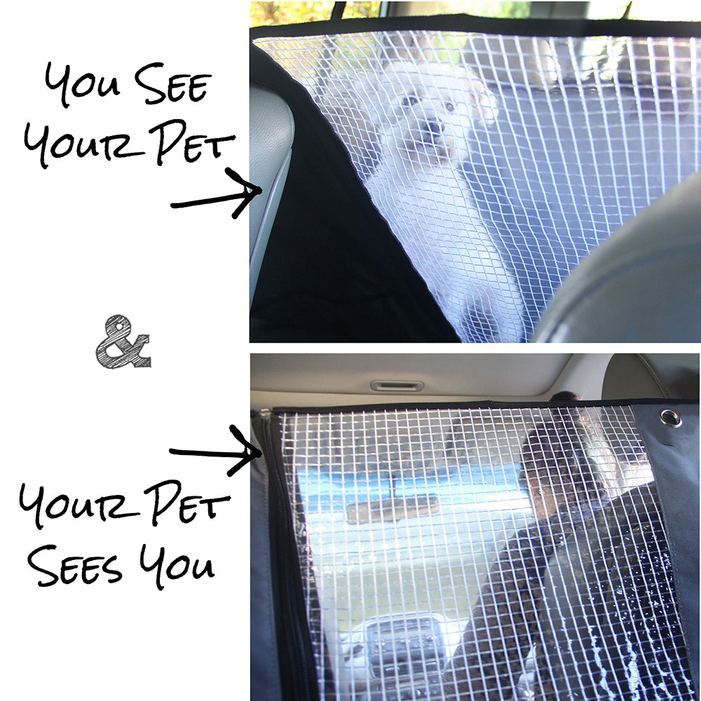 Pet Car Seat Cover, Deluxe Model