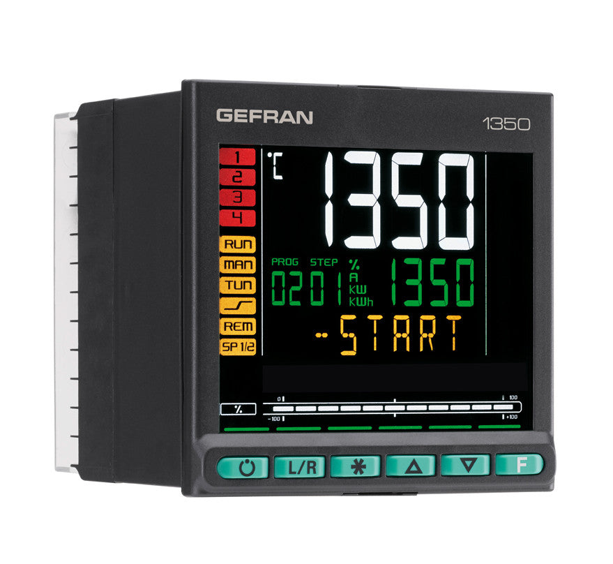 Gefran 1350 Series Temperature Controllers - Extruder Supplies