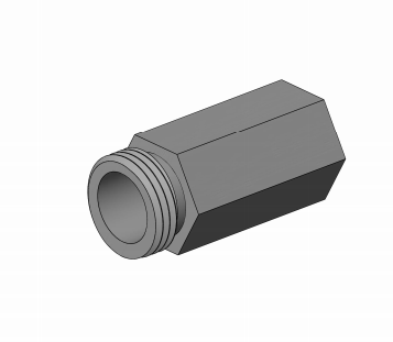 Metric to English Bayonet Adapters - Extruder Supplies