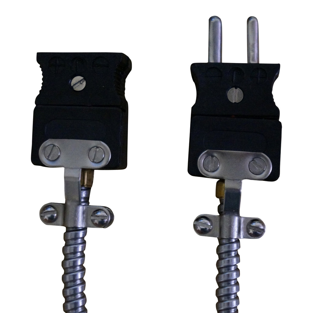 Armor Cable Thermocouple Extensions - Extruder Supplies