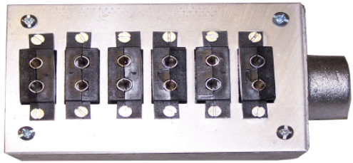 Standard Panels for Outlet Boxes - Extruder Supplies