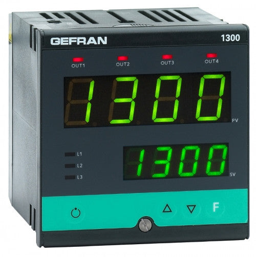 Gefran 1200/1300 Series Temperature Controllers - Extruder Supplies