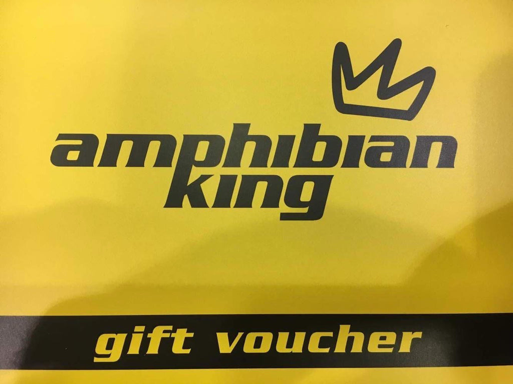 Amphibian King Gift Card (physical Gift Card sent out via post)