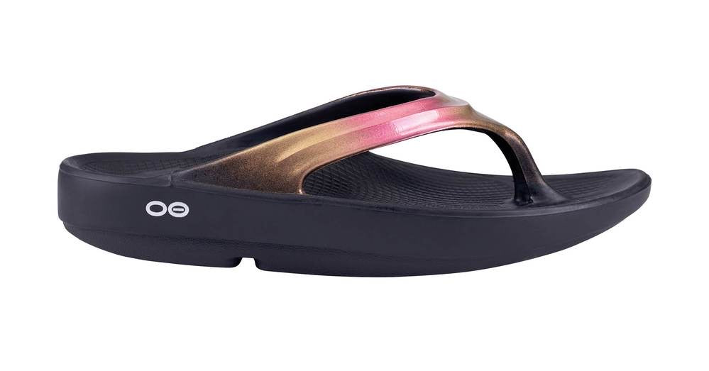 Oofos WOMEN'S OOLALA LUXE ROSE GOLD