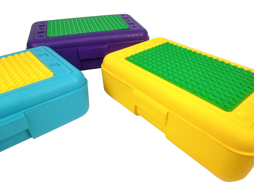 Pencil Box with Plate