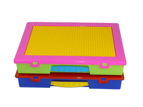 Block 'n' Go®: Large Organizer Case with building plate