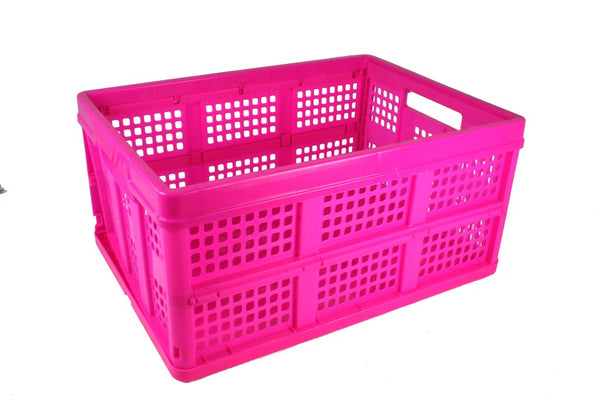 SpaceRacer® LG Collapsible Crate with Casters