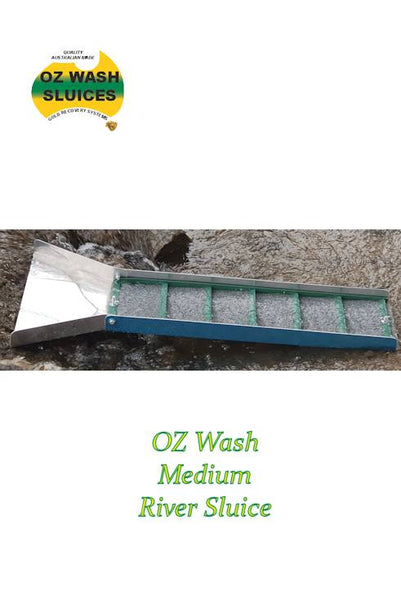 Oz Wash Medium River Sluice - Australian made