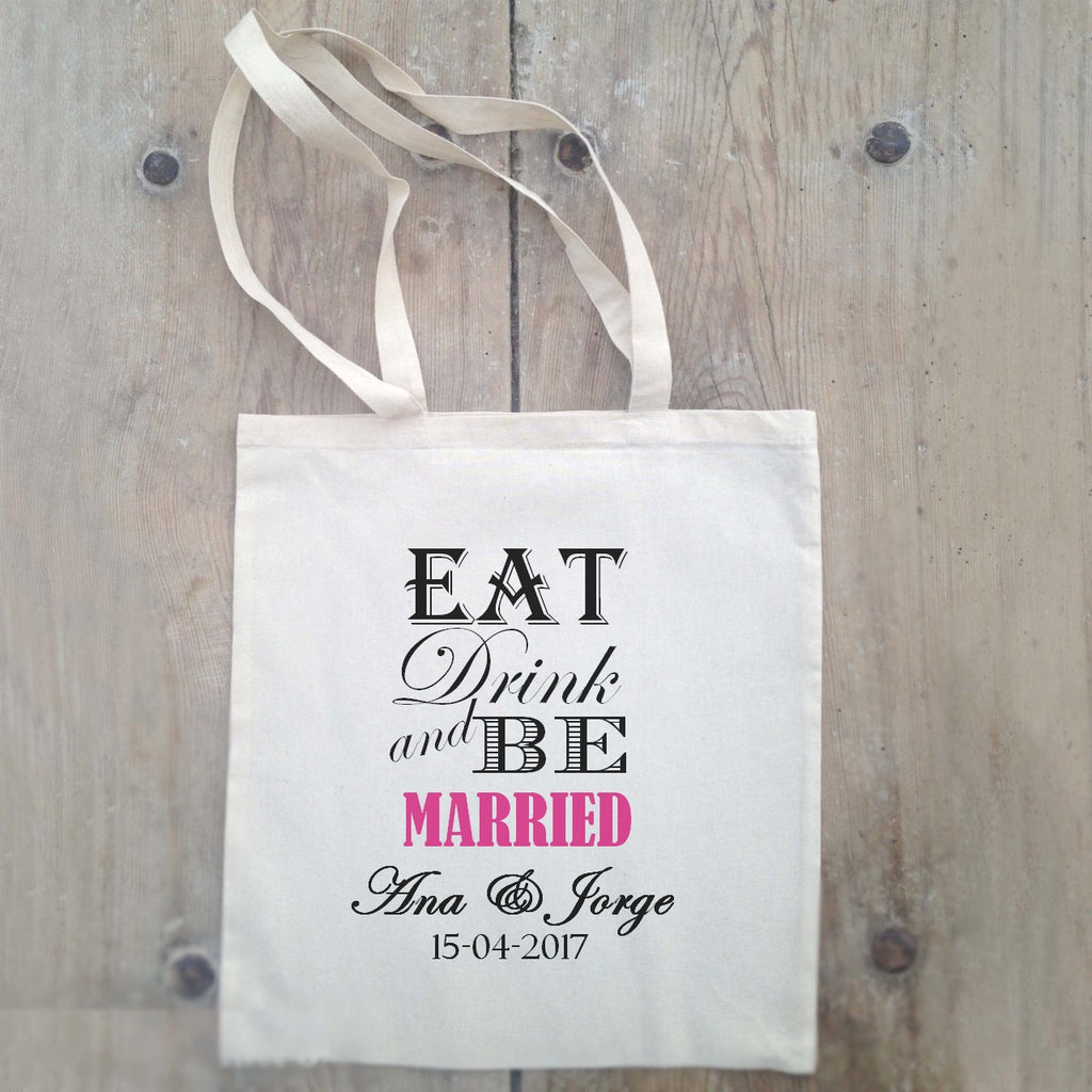 Bolsa Eat, Drink and Be Married