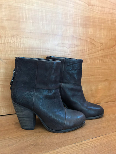 Rag & Bone Leather Booties Size 5
