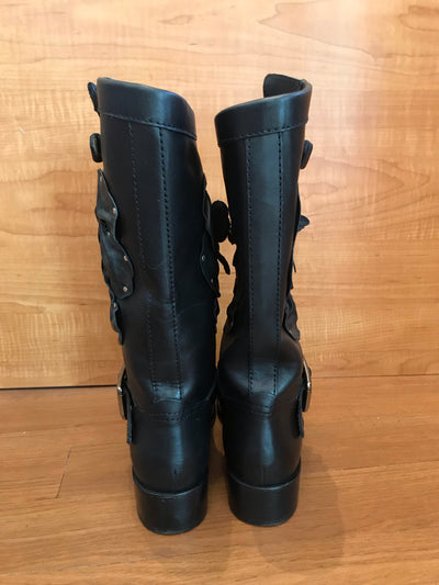 Valentino Floral Boots Size 6