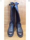 Frye Brown Leather Boots Size 8