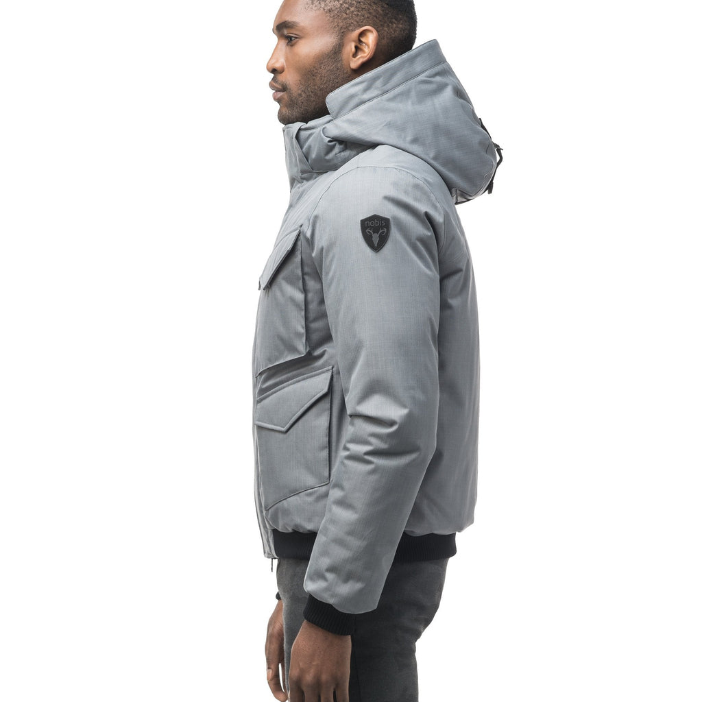 Ash Mens Multi-Pocket Bomber