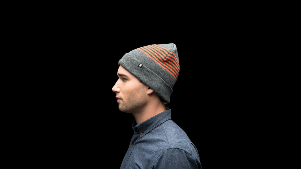 Simple Stripe Toque