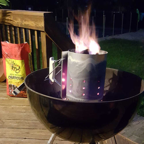 How To Light Fogo Lump Charcoal